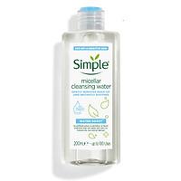 Nước tẩy trang Simple Water Boost Micellar Cleansing Water
