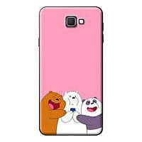Ốp Lưng Dành Cho Samsung Galaxy J5 Prime, J7 Prime - 3 Chú Gấu