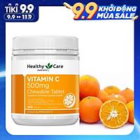 Healthy Care Vitamin C 500mg, 300v Kẹo C Từ Trái Cam Tươi Của Úc, Giúp Tăng Sức Đề Kháng và Hệ Miễn Dịch, Trắng Sáng Da Đẹp Da