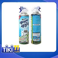 Combo 02 Chai xịt vệ sinh máy điều hòa (máy lạnh) Sandokkaebi 330ml nhập khẩu trực tiếp từ Hàn Quốc