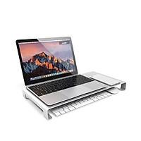 Kệ màn hình máy tính nhôm dày 2.5mm SH002 kiêm giá đỡ Imac, laptop Macbook và tivi cỡ lớn