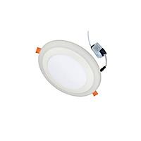 Đèn Led âm trần 9w ( 6w +3w) siêu mỏng tròn 2 màu 3 chế độ Posson LP-Ri6+3x