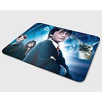 Miếng lót chuột mẫu Harry Potter và Rubeus Hagrid (20x24 cm) - Hàng Chính Hãng