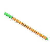 Bút kim màu Stabilo Point 88 - 0.4mm - Xanh lá mạ (88/43)