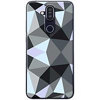 Ốp lưng dành cho  Nokia 8.1  mẫu Nhiều đa giác