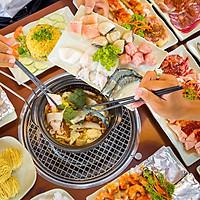 Buffet Tối Lẩu Nướng Bò Mỹ - Hải Sản Hơn 50 Món Tại Nhà Hàng Hải Sản Dìn Ký Hồng Hà