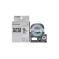 Băng mực in nhãn Tepra cỡ 9mm dùng cho máy TEPRA PRO SR-R170V / SR530 / SR970 - HÀNG CHÍNH HÃNG KING JIM