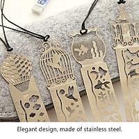 Set Bookmark kim loại có thể vẽ trang trí