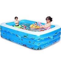 Bể Bơi Mini Cho Bé, Bể Bơi Phao Tập Bơi, Hồ Bơi Mùa Hè Nhiều Kích Thước