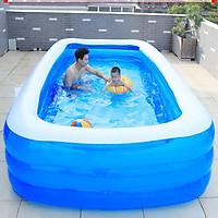 Bể bơi phao cho bé swimming pool KT 305*173*56cm tặng bơm điện