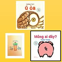 Combo Sách Lật Tương Tác Song Ngữ 0-3 Tuổi: Mông Ai Đây? và Ú Òa ( Tặng Kèm Sổ Tay Xương Rồng)