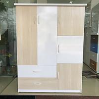Tủ áo quần Jang Mi MRA 125 x 1m85 x 47 cm