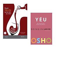 Combo 2 cuốn : OSHO - Yêu - Being In Love +  Chuyện Tình Yêu Bạn Biết Được Bao Nhiêu?