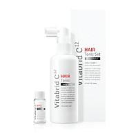 Bộ Giải Pháp Cho Tóc Rụng Vitabrid C12 Scalp Shampoo & Hair