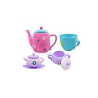 Children Classic Toys Delicate Spot Teapot Set Kids Kitchen Educational Toy Play House Toys