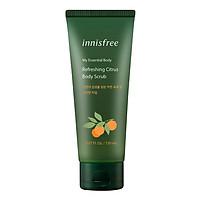 Tẩy Tế Bào Da Chết Cơ Thể Innisfree Essential Citrus Body Scrub 150ml - 131171085