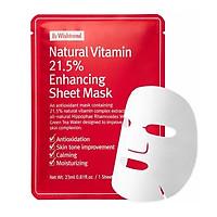 Mặt nạ giấy phục hồi da By Wishtrend Natural Vitamin 21.5 Enhancing Sheet Mask