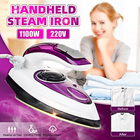 Handheld Steam Iron Electric Ironing Portable Travel Home Cloth Garment Steamer