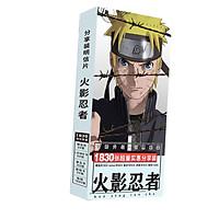 Postcard Naruto Cửu Vỹ Hồ hộp ảnh anime chibi