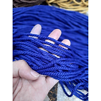 Dây Thừng Macrame Cotton Nhiều Màu , Trang Trí Nhà Cửa , Nội Thất 3mm