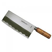 Dao Inox Làm Bếp Nikken Tsubazo 29cm (Dùng chặt xương) - Sản xuất theo tiêu chuẩn Nhật Bản