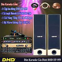 BỘ DÀN KARAOKE DHD SỐ 1 HP-502-HP-7200 (HÀNG CHÍNH HÃNG)