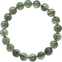 Vòng Thạch Anh Tóc (9mm) Ngọc Quý Gemstones VT72 -  Xanh