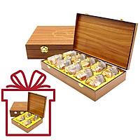 Yến Sào Song Việt – Combo hộp gỗ 4 phần yến và hộp gỗ 10 phần yến khô