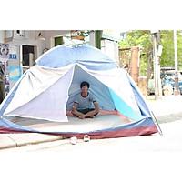 Lều 10 người, phượt, du lịch, dã ngoại, cắm trại chất liệu vải 210T cao cấp