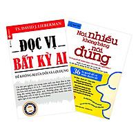 Combo Đọc Vị Bất Kỳ Ai + Nói Nhiều Không Bằng Nói Đúng (2 cuốn)