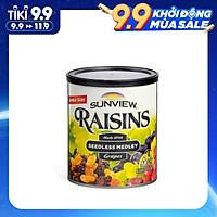 Nho Khô Mỹ Sunview Raisins Mix 425g (Thậm Cẩm 3 Mùi Vị),Bổ Sung Nhiều Vitamin Khoáng Chất Cho Cơ Thể, Món Ăn Vặt Tốt Cho Tim Mạch