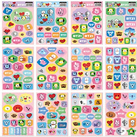 Sticker Bt21 12 tấm BTS