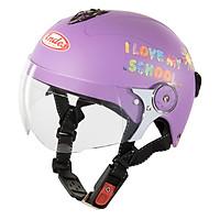 Mũ Bảo Hiểm Trẻ Em Andes 3S108SK Tem Nhám S83