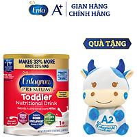 Sữa Bột Enfagrow Premium Toddler Hương Sữa Tự Nhiên Cho Trẻ Từ 1-3 Tuổi 907g - Tặng Bò Bông Enfa [Nhập khẩu Mỹ]