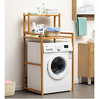 Kệ sau máy giặt gỗ tre tự nhiên thương hiệu MuMaRen nhập khẩu