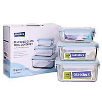 Bộ hộp đựng thực phẩm Glasslock GL1044