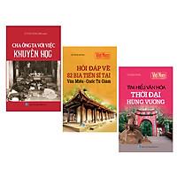 Combo Tủ sách lịch sử - Khám phá văn hóa Việt Nam (Bộ 3 cuốn)