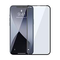 Miếng dán kính cường lực Full 3D Baseus cho iPhone 12 Pro Max, phủ Nano siêu mỏng 0,25mm - Hàng chính hãng