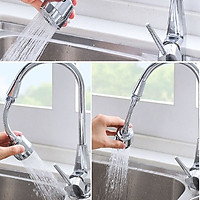 Vòi xoay rữa chén siêu sạch tiết kiệm nước kèm video -V9610