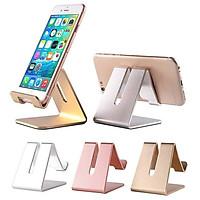 GIÁ ĐỠ hợp kim nhôm ĐỂ điện thoại ipad- máy tính bảng (GIAO NGẪU NHIÊN)