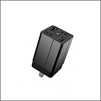 Cốc sạc nhanh đa năng Remax Wanfu RP-U43 4 cổng USB max 3.4A - Hàng nhập khẩu