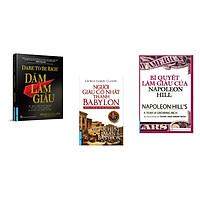 Combo 3 cuốn sách: Dám Làm Giàu + Người Giàu Có Nhất Thành Babylon  + Bí Quyết Làm Giàu Của NapoLeon Hill