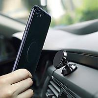 Giá đỡ điện thoại gắn xe hơi bằng nam châm, loại gắn khe máy lạnh