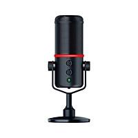 Razer Seiren Elite Microphone Single Dynamic Capsule Built-In High-Pass Filter Digital/Analog Limiter Cardioid Pickup - Black