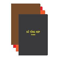 Sổ tổng hợp Hải Tiến T8 600 trang 17,5 x 25 cm