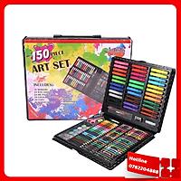 Bộ Bút Màu Vẽ 150 Món Cho Bé - Tặng 2 Bút Bi Nước Hình Dễ Thương  - Loại Tốt