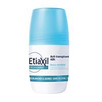 Lăn Khử Mùi Hàng Ngày Etiaxil Deodorant Anti-Transpirant 48h Peaux Sensibles 50ml