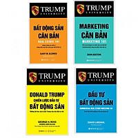 Sách - Combo Trump University (Bất Động Sản Căn Bản + 100 Lời Khuyên Bất Động Sản + Đầu Tư + Chiến Lược) - Lẻ, tùy chọn