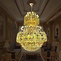 Đèn Chùm Pha Lê Phòng Khách 285 hạt pha lê CFL7002