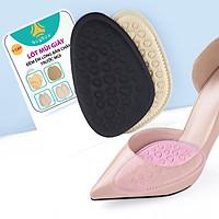 Lót giày cao gót chống trượt bàn chân về phía mũi và đệm êm gang bàn chân - 1 cặp - buybox - BBPK161